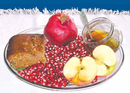 Рош а-Шана 2019 - мед, гранат и яблоко